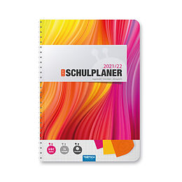 Kalender Trötsch Schulplaner Bunt 2021/2022 von