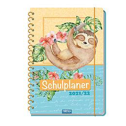 Kalender Trötsch Color-Schulplaner Tiere 2021/2022 von