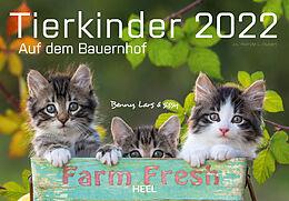 Kalender (Kal) Tierkinder auf dem Bauernhof 2022 von