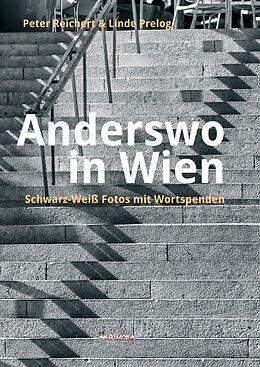 Kartonierter Einband Anderswo in Wien von Peter Reichert, Linde Prelog