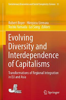 Fester Einband Evolving Diversity and Interdependence of Capitalisms von
