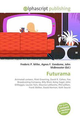 Kartonierter Einband Futurama von