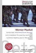 Kartonierter Einband Werner Pluskat von