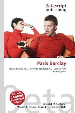 Kartonierter Einband Paris Barclay von