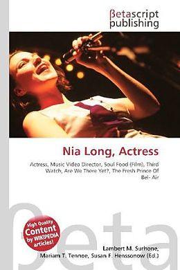 Kartonierter Einband Nia Long, Actress von