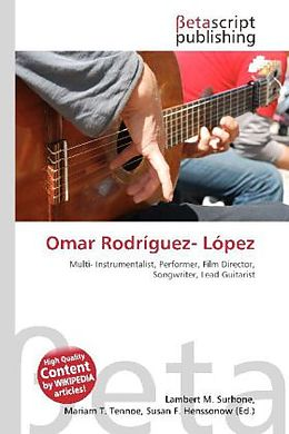 Kartonierter Einband Omar Rodríguez- López von