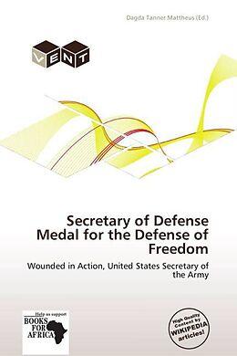 Kartonierter Einband Secretary of Defense Medal for the Defense of Freedom von