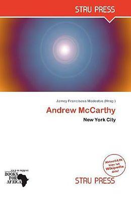 Kartonierter Einband Andrew McCarthy von