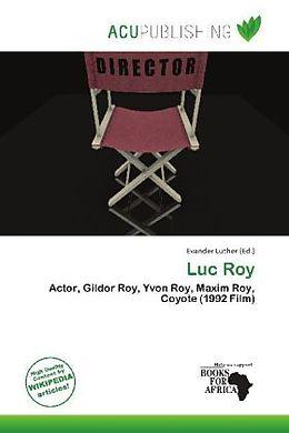 Kartonierter Einband Luc Roy von