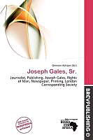 Kartonierter Einband Joseph Gales, Sr. von