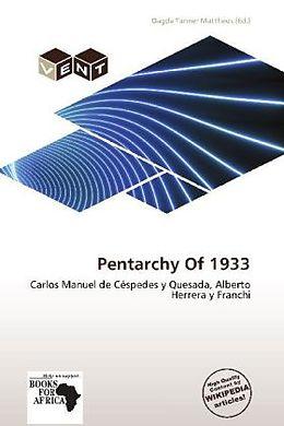 Kartonierter Einband Pentarchy Of 1933 von