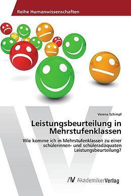 Leistungsbeurteilung in Mehrstufenklassen - Verena Schimpl - Buch ...
