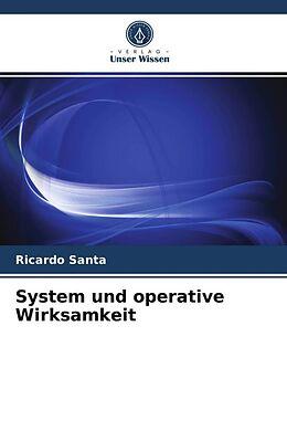 Kartonierter Einband System und operative Wirksamkeit von Ricardo Santa