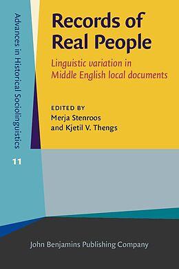 E-Book (epub) Records of Real People von