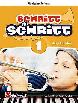 Jaap Kastelein Notenblätter Schritt für Schritt Band 1 für Trompete