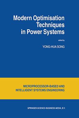 Kartonierter Einband Modern Optimisation Techniques in Power Systems von
