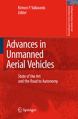 Kartonierter Einband Advances in Unmanned Aerial Vehicles von