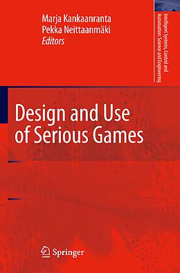 Kartonierter Einband Design and Use of Serious Games von