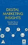 Fester Einband Digital Marketing Insights von Satinder Kumar