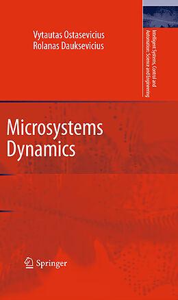 Kartonierter Einband Microsystems Dynamics von Rolanas Dauksevicius, Vytautas Ostasevicius