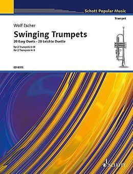 Wolf Escher Notenblätter Swinging trumpets 20 easy duets
