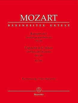 Wolfgang Amadeus Mozart Notenblätter Konzert c-Moll KV491 für Klavier