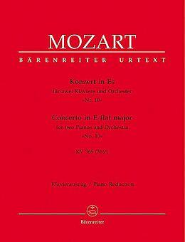 Wolfgang Amadeus Mozart Notenblätter Konzert Es-Dur KV365 für