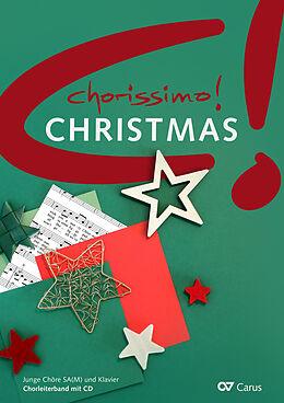 Kartonierter Einband (Kt) chorissimo! Christmas (Chorbuch + CD) von Klaus Brecht, Klaus W. Weigele