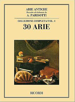 Notenblätter Arie antiche vol.1 30 arie a una voce