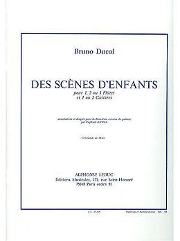 Bruno Ducol Notenblätter DES SCENES DENFANTS NO.1 OP.10