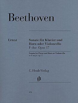 Ludwig van Beethoven Notenblätter Sonate F-Dur op.17