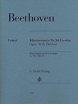 Klaviersonate Nr. 24 Fis-dur op. 78 - Ludwig van Beethoven - Buch ...