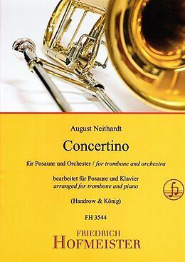Geheftet Concertino für Posaune und Orchester / KlA von August Neithardt