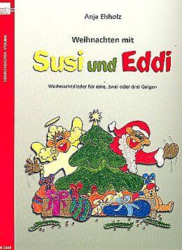 Anja Elsholz Notenblätter Weihnachten mit Susi und Eddi