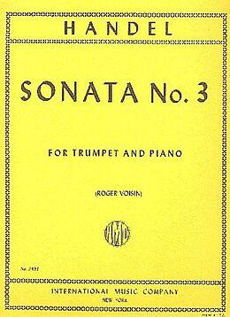 Georg Friedrich Händel Notenblätter SONATA NO.3 FOR