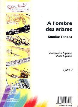 Kumiko Tanaka Notenblätter A lombre des arbres