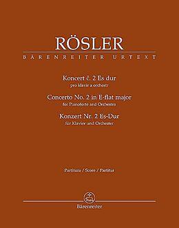 Johann Josef (Jan Josef) Roessler Notenblätter Konzert