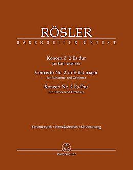 Johann Josef (Jan Josef) Roessler Notenblätter Konzert für Klavier und Orchester