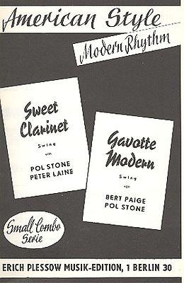 Notenblätter Sweet Clarinet und Gavotte Modern