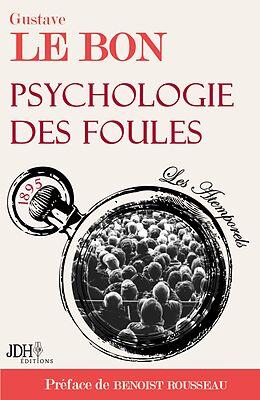 eBook (epub) Psychologie des foules de Gustave Le Bon