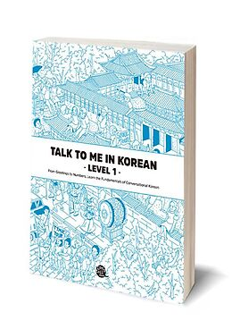 Couverture cartonnée Talk To Me In Korean - Level 1 de