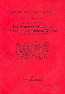 Hans Richter Notenblätter Fantasie über Der fliegende Holländer