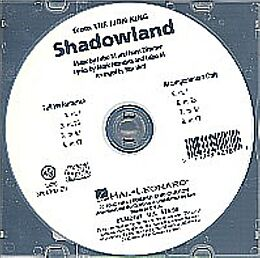 Hans Zimmer CD Shadowland Showtrax-CD