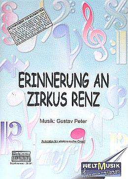 Gustav Peter Notenblätter Erinnerung an Zirkus Renz