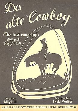 Benny Hill Notenblätter Der alte CowboyEinzelausgabe