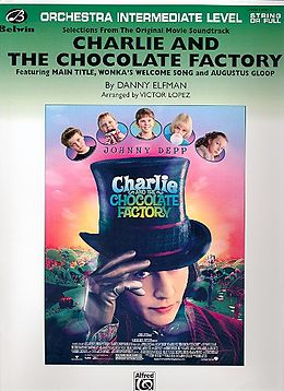 Danny Elfman Notenblätter Charlie and the Chocolate Factory (2005)