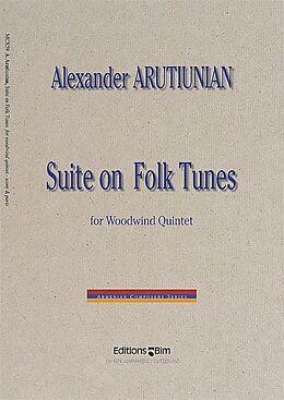 Alexander Arutjunjan Notenblätter Suite on Folk Tunes