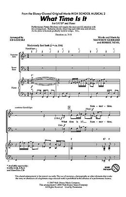CD Matthew Gerrard_Robbie Nevil, What time is it (from High School Mus.2)