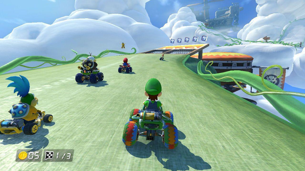 Mario Kart 8 Deluxe [NSW] (D)