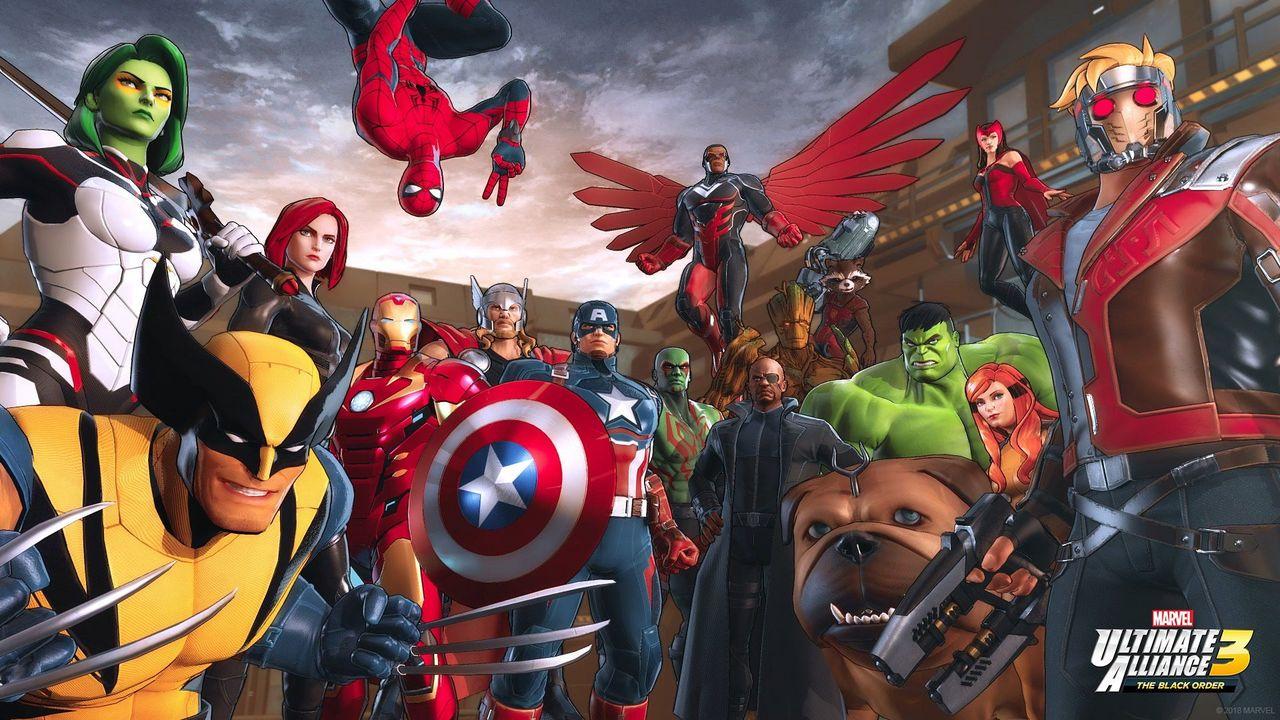 Marvel Ultimate Alliance 3: The Black Order [NSW] (D)